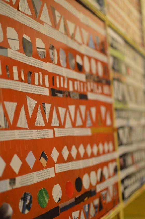 Aztec Art Magazine Paper Cutouts