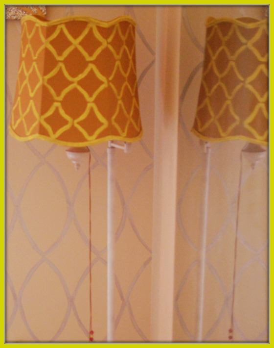 Drab to Fab Lamp Makeover