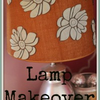 Lamp Makeover Drab to Fab