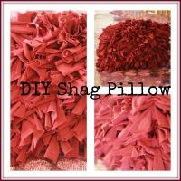 DIY Shag Pillow
