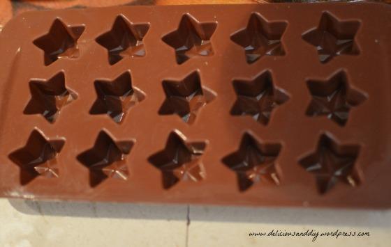silicone choco mould
