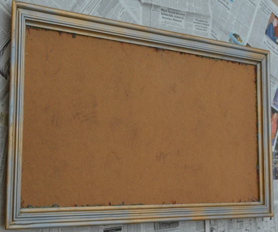 frame before