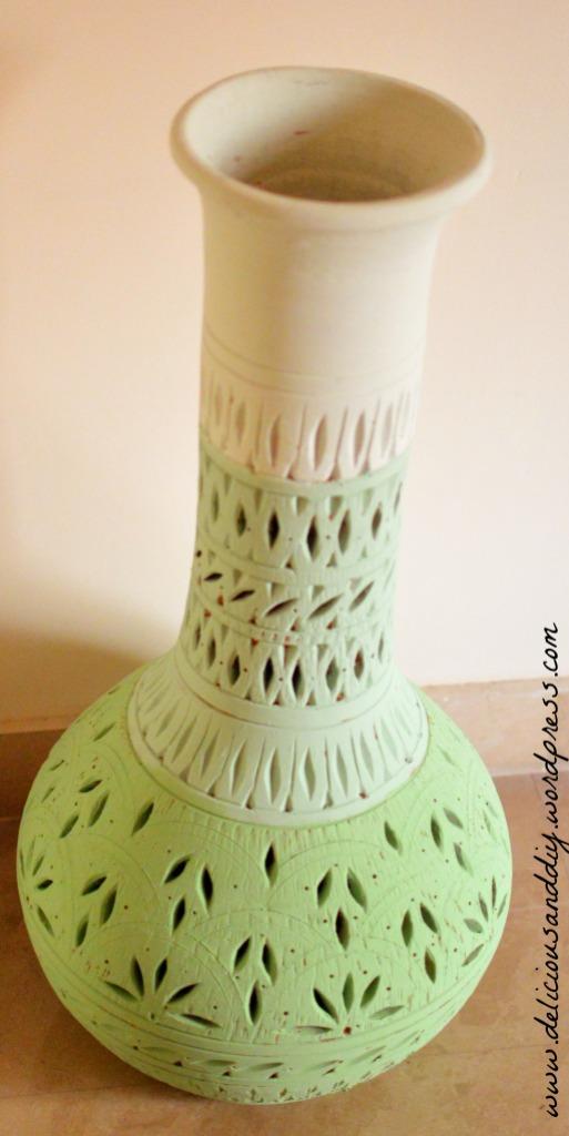 ombre green pot